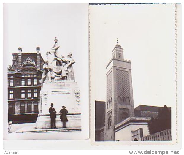 Photo        L3        Lot De 2 Photos 7X11 ( Paris )( 1935 ) - Lieux