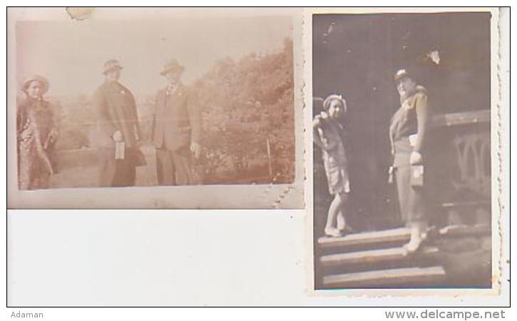 Photo        L6        Lot De 2 Photos 5,5X9 ( Finlande )( 1934 ) - Lieux