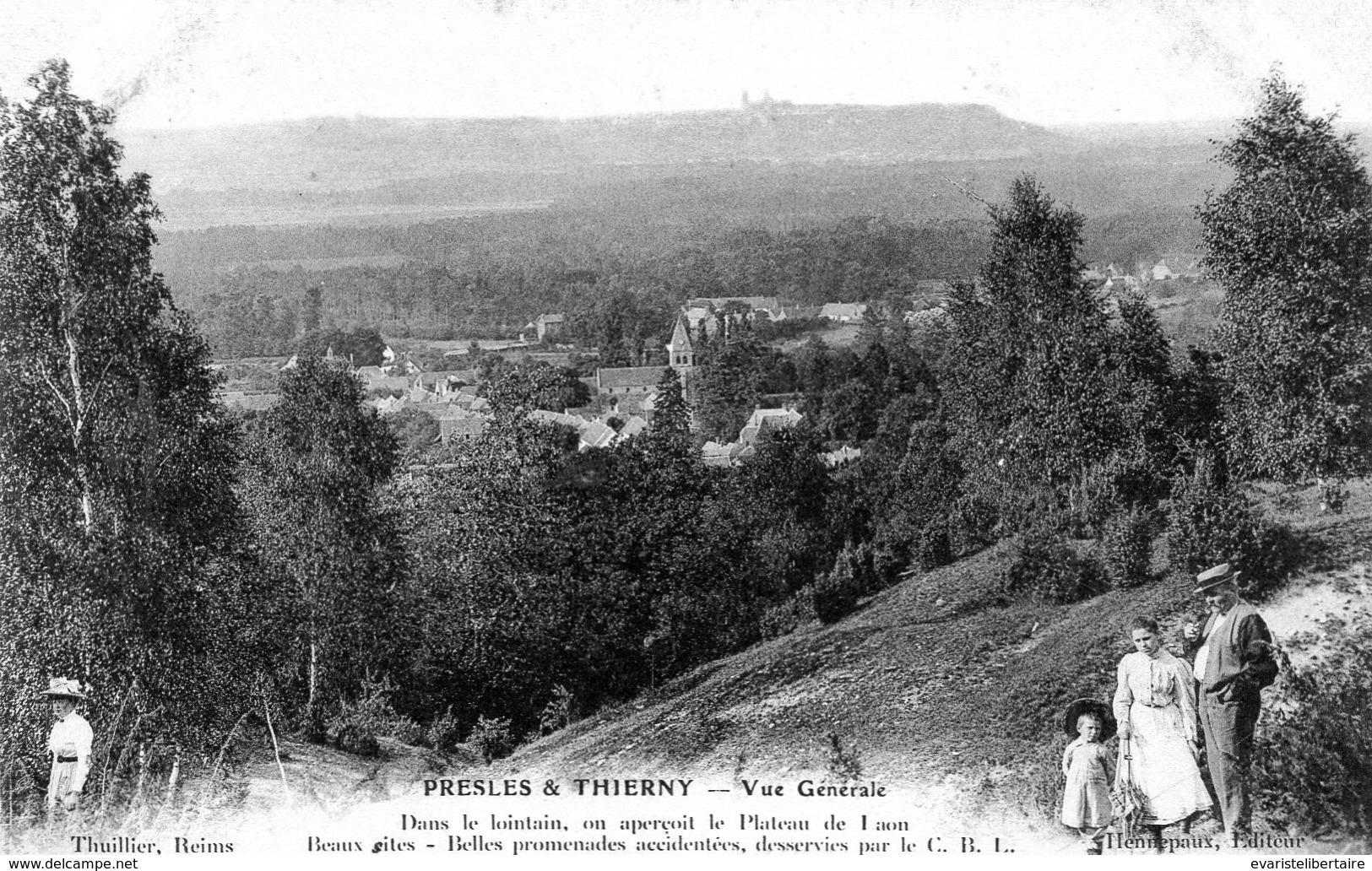 PRESLE & THIERNY : Vue Générale - Autres Communes