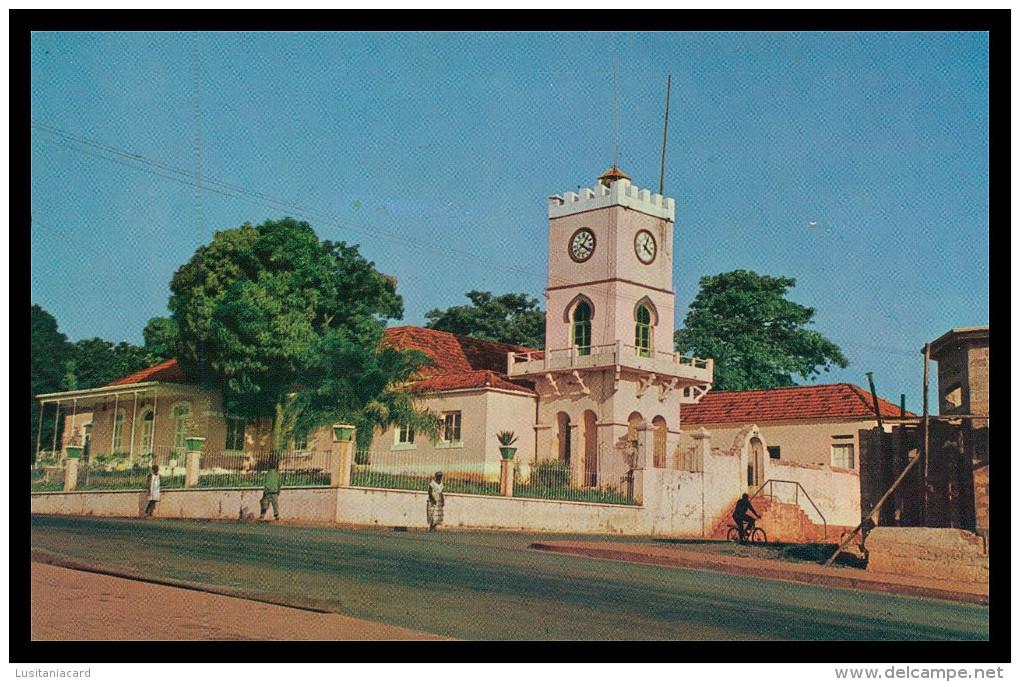 BAFATÁ - Edificio Da Administração ( Ed. Foto-Serra Nº 115) Carte Postale - Guinea-Bissau