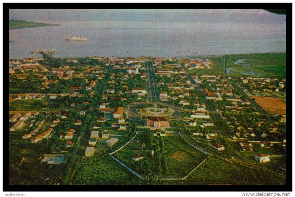 BISSAU - Vista Aérea De Bissau ( Ed. Foto-Serra Nº 118) Carte Postale - Guinea-Bissau