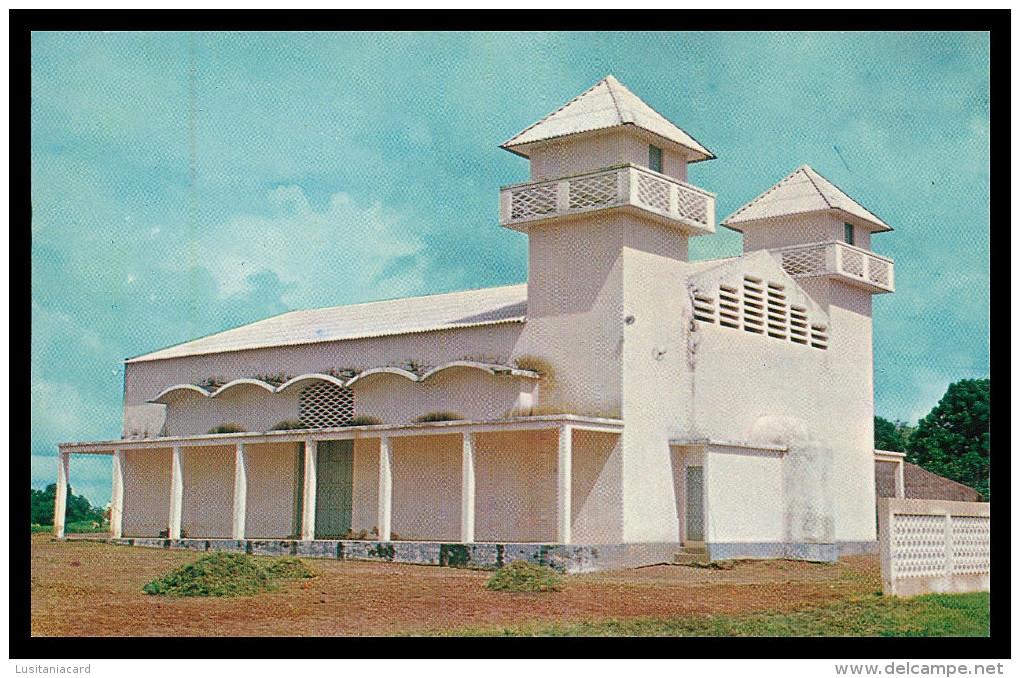 BISSAU - Mesquita Muçulmana  ( Ed. Foto-Serra Nº 145) Carte Postale - Guinea-Bissau