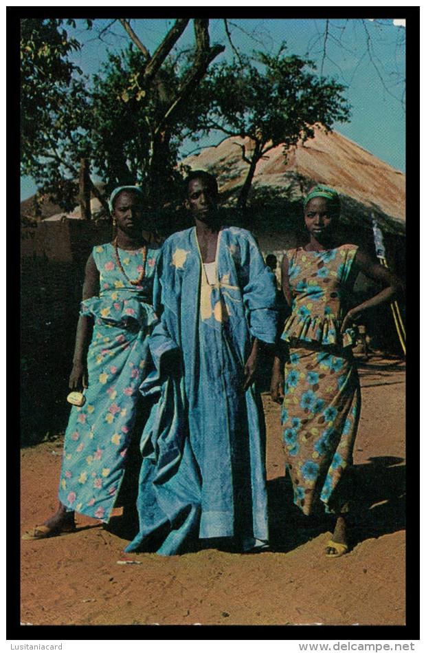GUINE -BISSAU - COSTUMES - Mandingas ( Ed. Foto-Serra Nº 160) Carte Postale - Guinea-Bissau