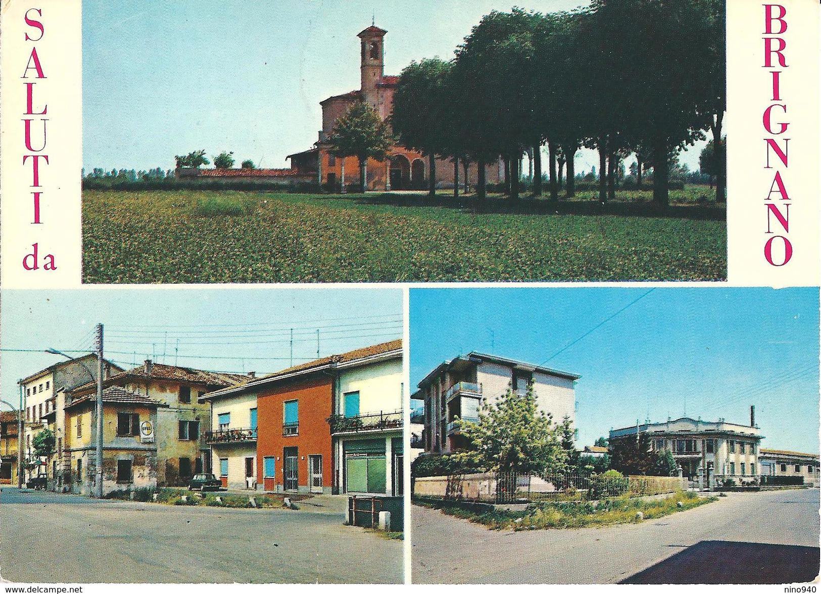 SALUTI DA BRIGNANO (BG)  - VEDUTINE - F/G - V - Italie