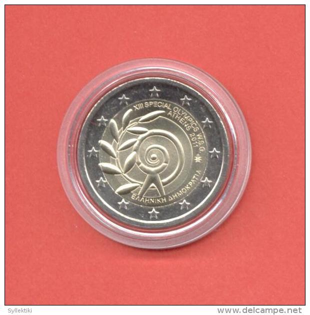 GREECE 2011 2 EURO COMMEMORATIVE COIN UNC - Grecia