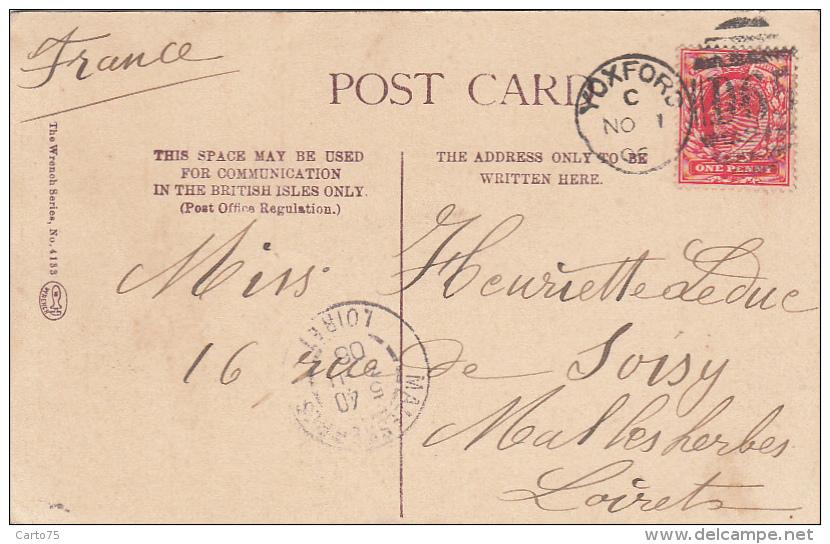 Royaume-Uni - Yoxford - Cocfield Hall - Postmarked 1906 - Non Classés