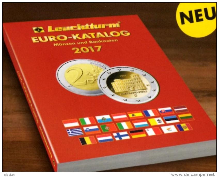 Auflage 2017 EURO Münz-Katalog Germany New 10€ Neue Numis-Briefe/Numisblätter/Banknoten Europa Coin Catalogue Leuchtturm - Olandese