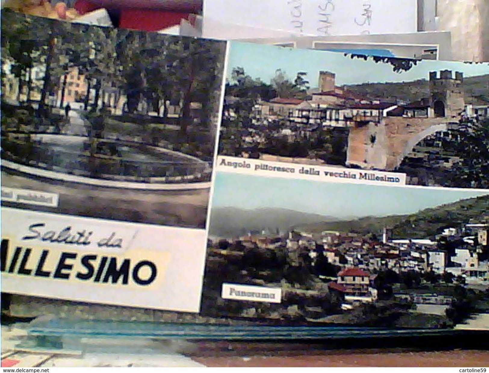 MILLESIMO  VEDUTE  E SALUTI  V1972 FT7909 LUNGA - Savona