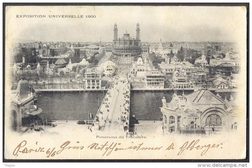 FRANCE - PARIS - EXHIBITION - PAVILLONS - 1900 - 1900 – Paris (Frankreich)
