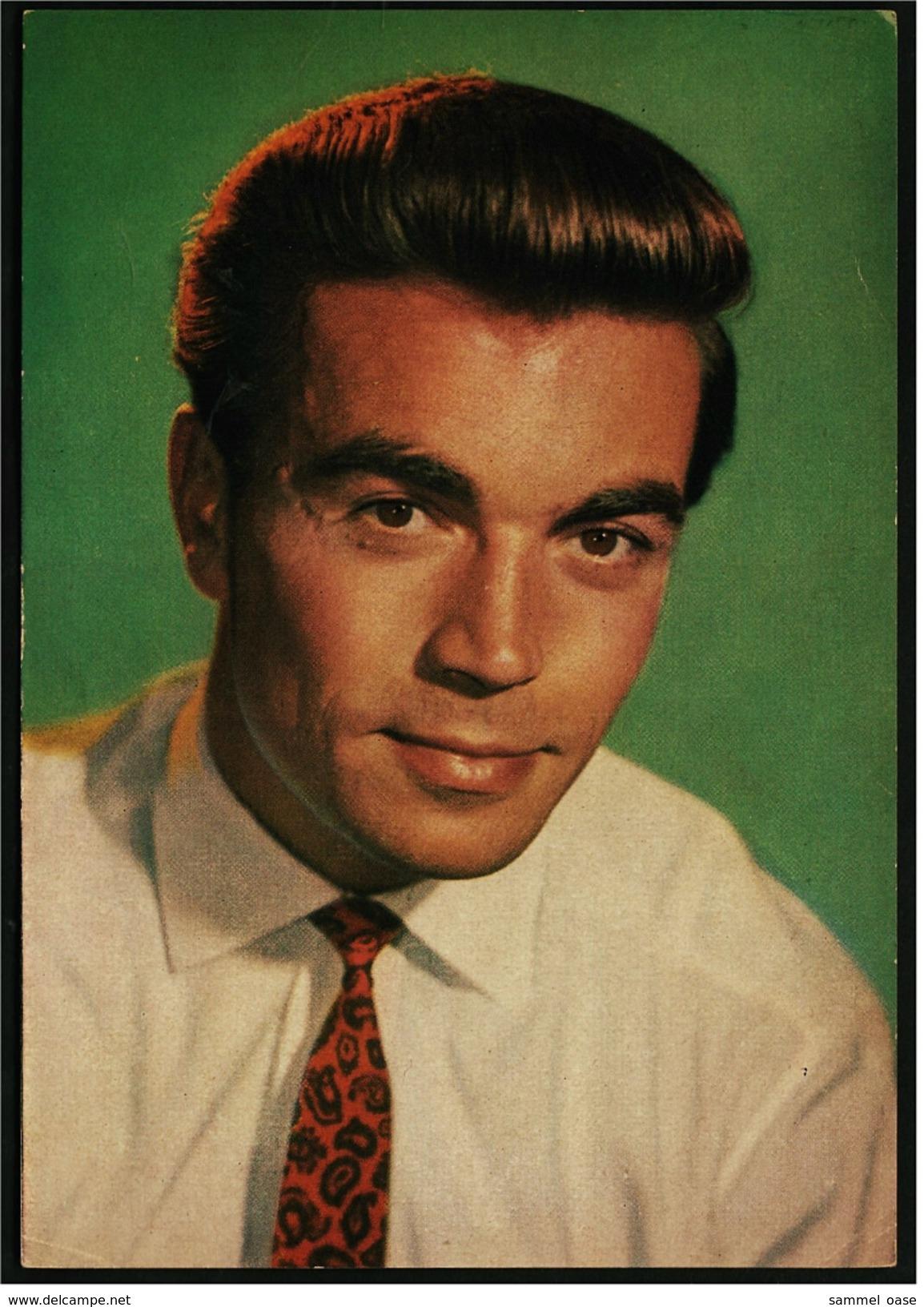 Ca. 1958  -  Sammelbild OK-Kaugummi  -  Claus Biederstaedt  -  Bild Nr. 2 - Süsswaren