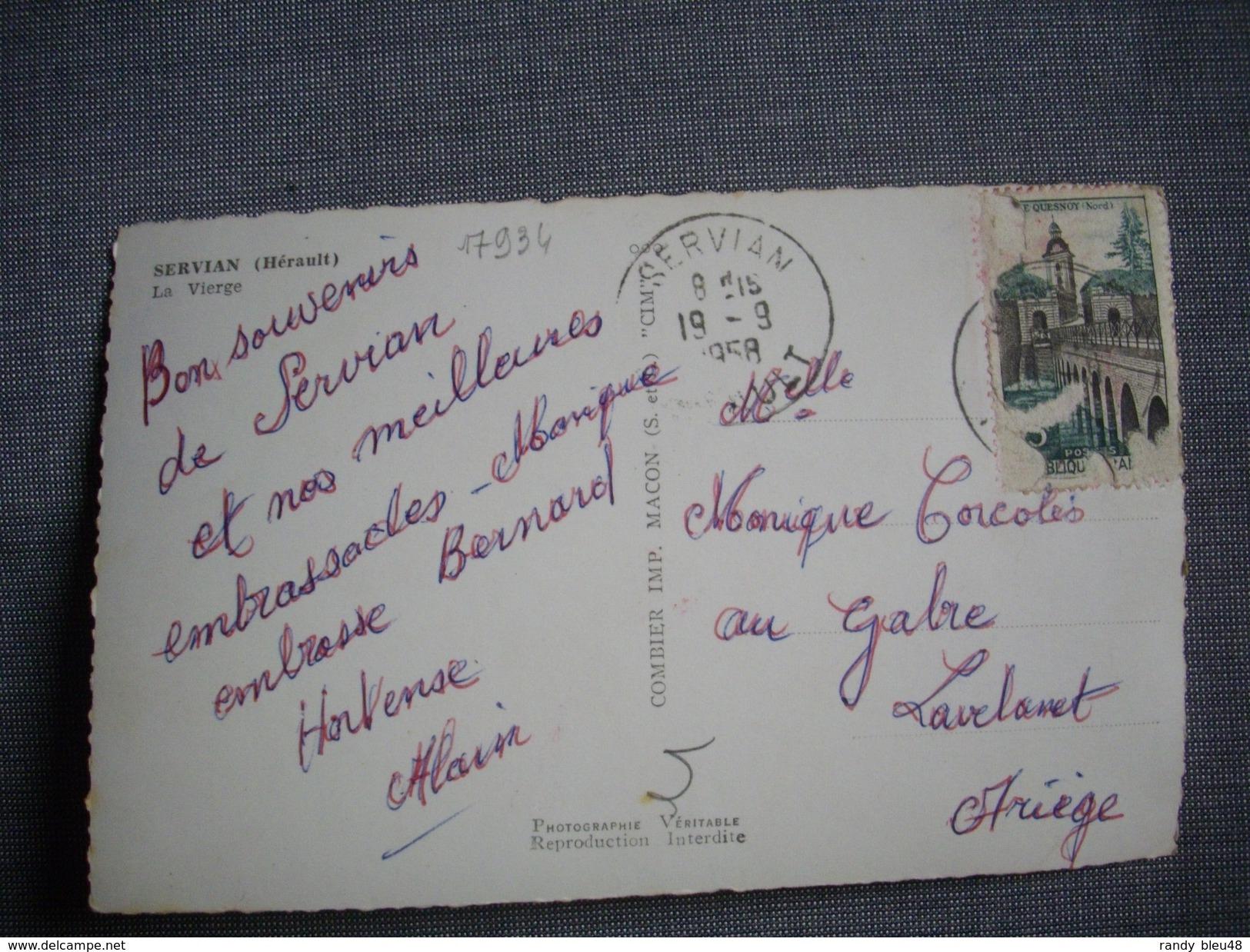 SERVIAN  -  34  -  La Vierge  -  Hérault - France