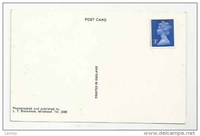 ENGLAND - SOMERSET -  A CARAVAN CAMP SITE, BLUE ANCHOR BAY - VERSO - Sin Clasificación