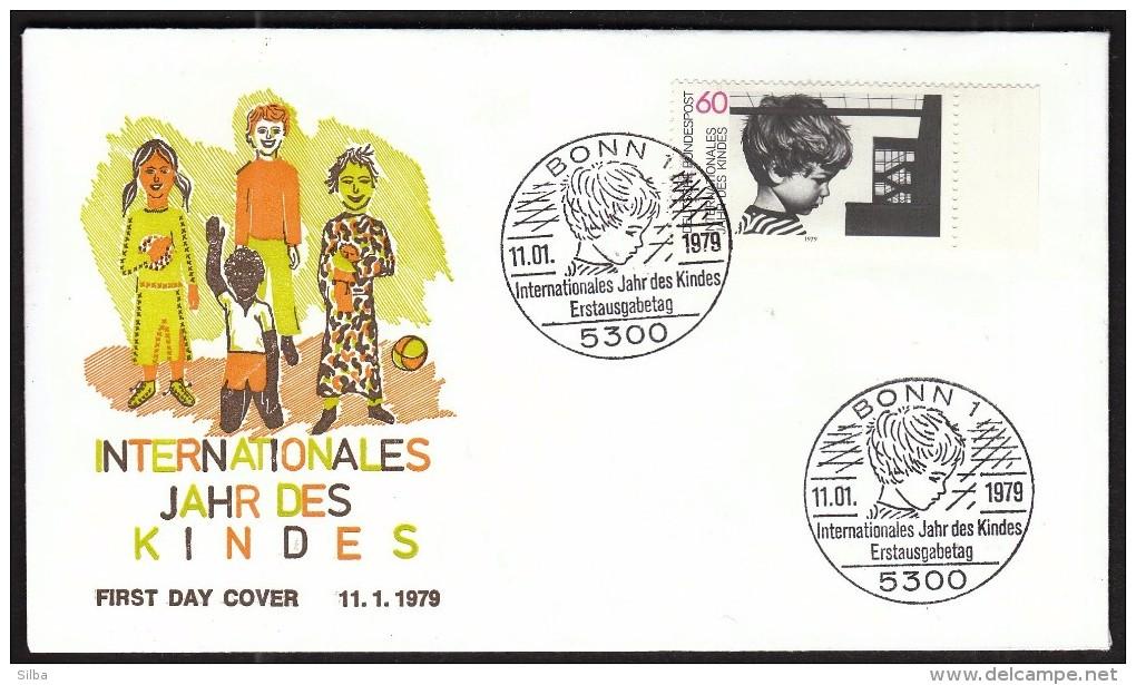 Germany Bonn 1979 / Children / International Year Of The Child / Internationales Jahr Des Kindes - Childhood & Youth