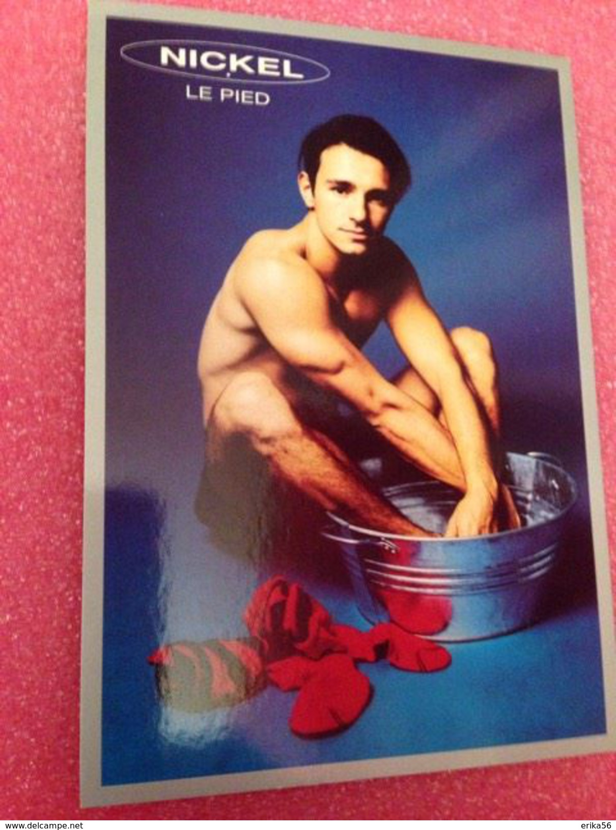 NICKEL  Le Pied - Perfume Cards