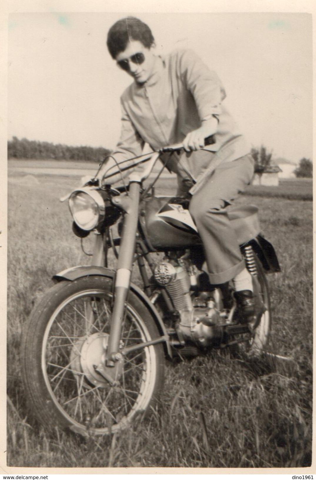 PHOTO 396 - Photo Originale 7 X 10 - Motocylette - Moto - Photographs