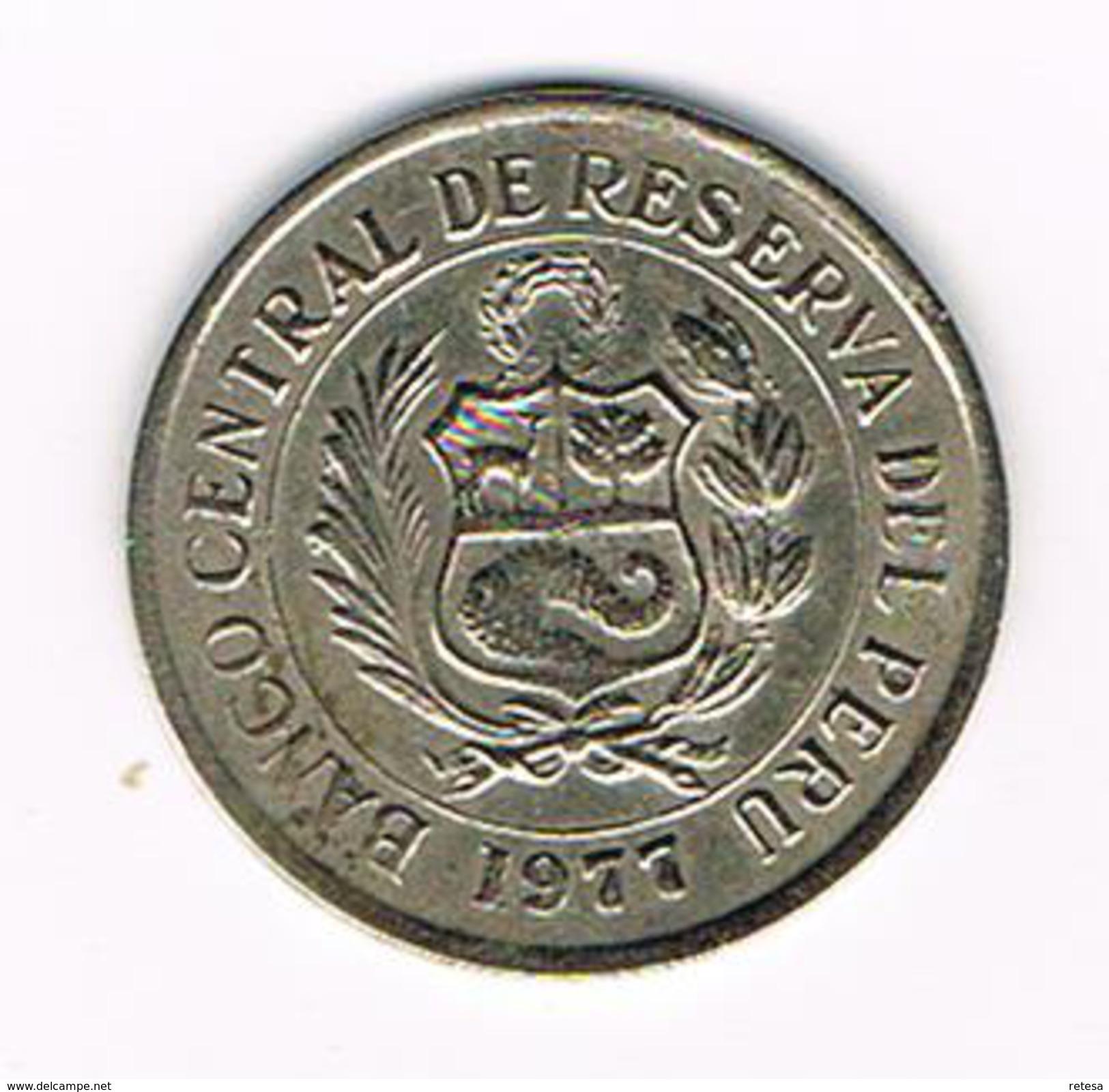 °°° PERU  5  SOLES  1977 M - Pérou