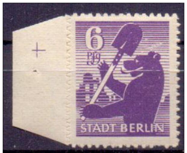 SBZ Berlin + Brandenburg Mi. 2B ** (€ 22,00) - Ansehen!! - Zona Sovietica