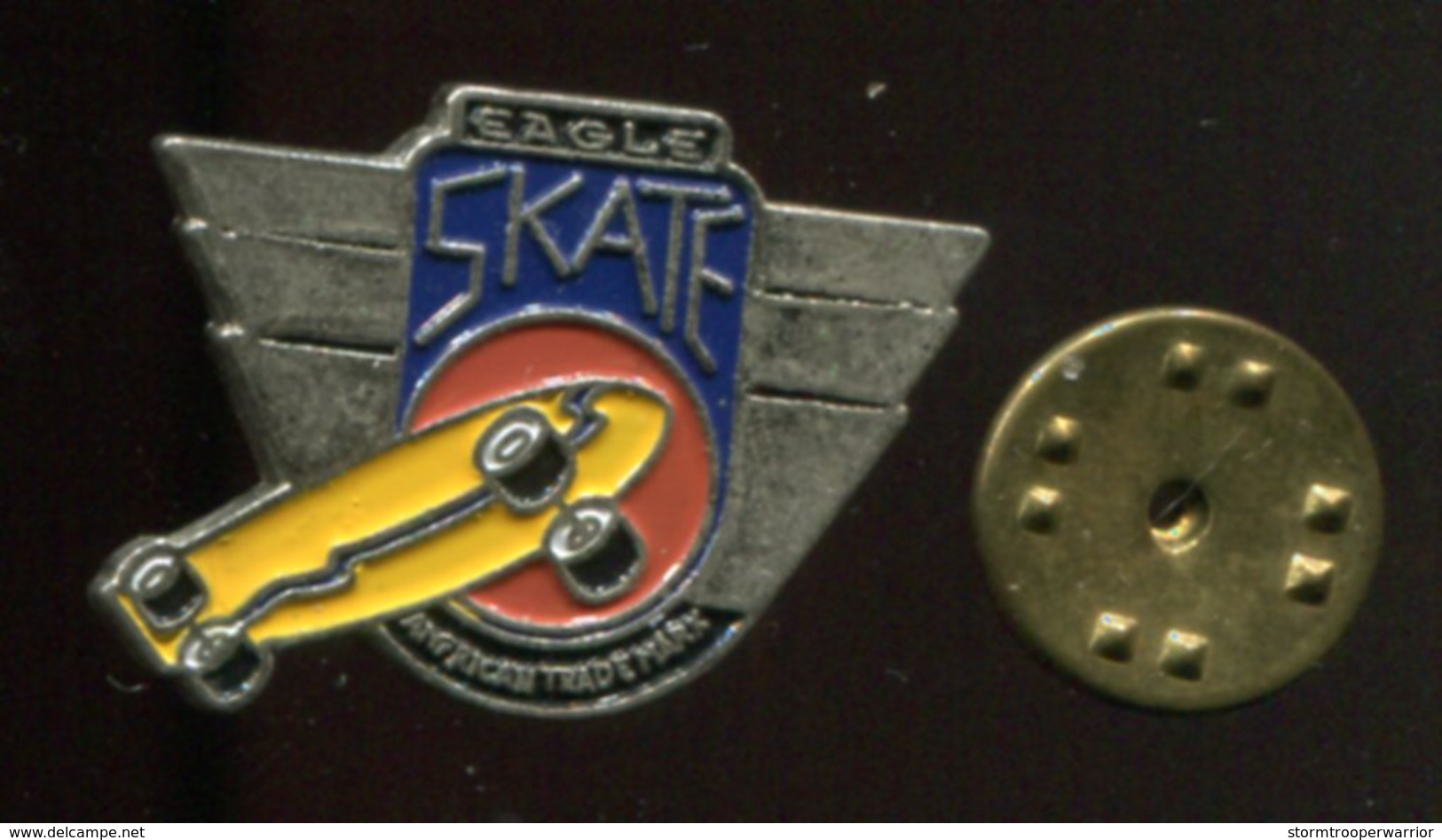 Pin´s - Eagle Skate Skateboard Planche - Skateboard