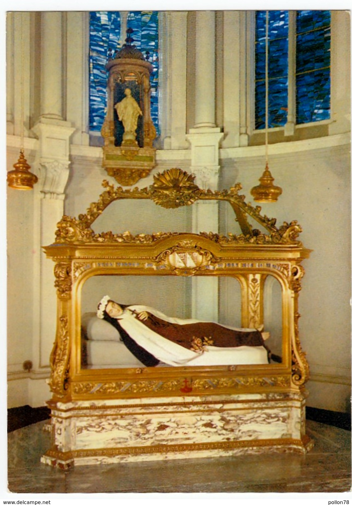 CARMEL DE LISIEUX - LA CHASSE DE Ste THERESE DE L'ENFANT-JESUS - SANTA TERESA - Vedi Retro - Santi