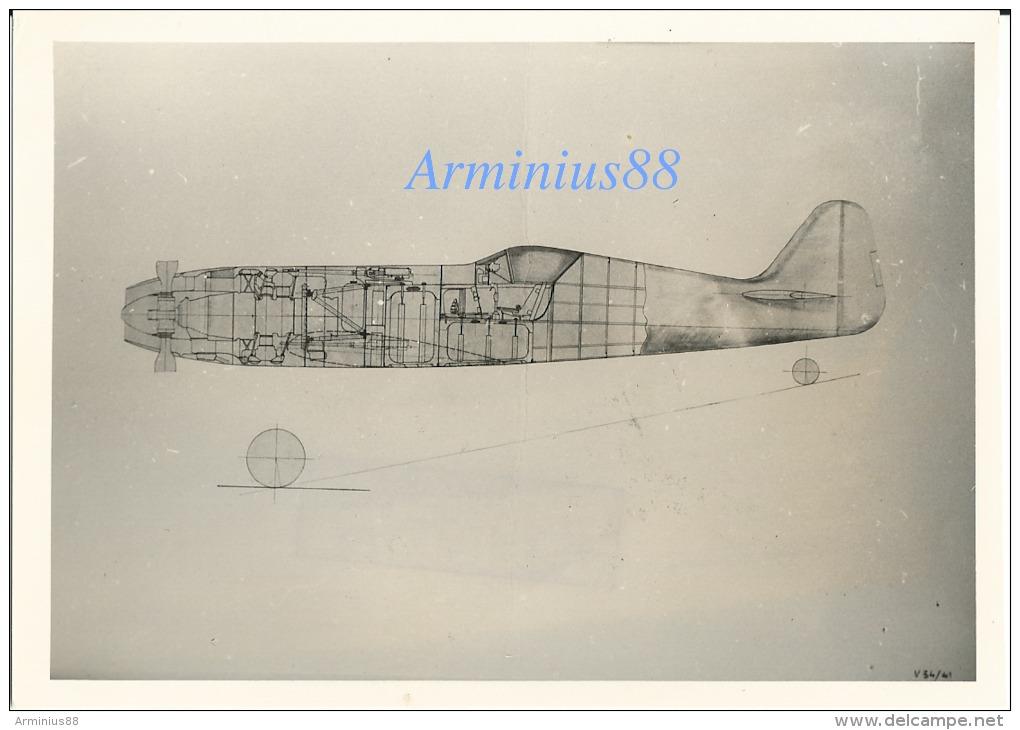 Luftwaffe - Focke-Wulf FW Fighter Project With BMW 802 Engine - Einsitzer Projekt Mit BMW Motor 802 - Luftfahrt