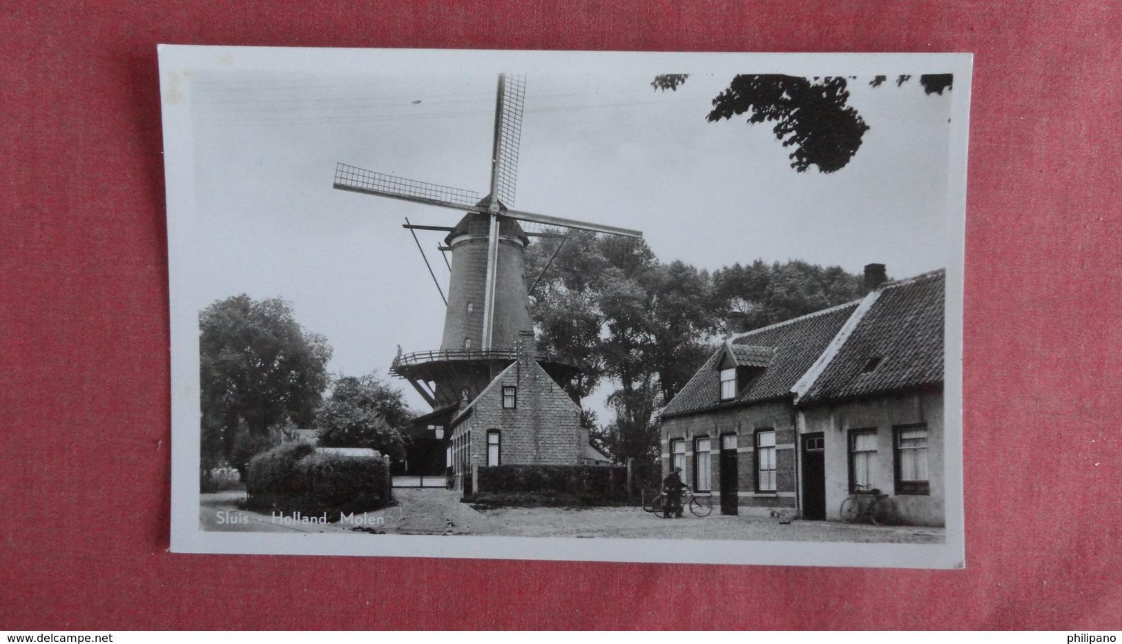 > Netherlands > Zeeland > Sluis   RPPC  Molen  Ref 2397 - Sluis