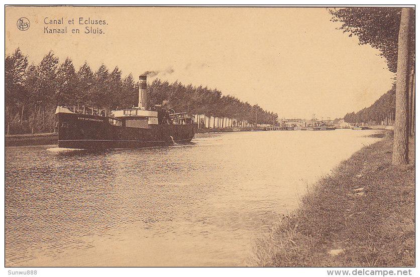 Kapelle-op-den-Bos - Kanaal En Sluis (1929) - Kapelle-op-den-Bos