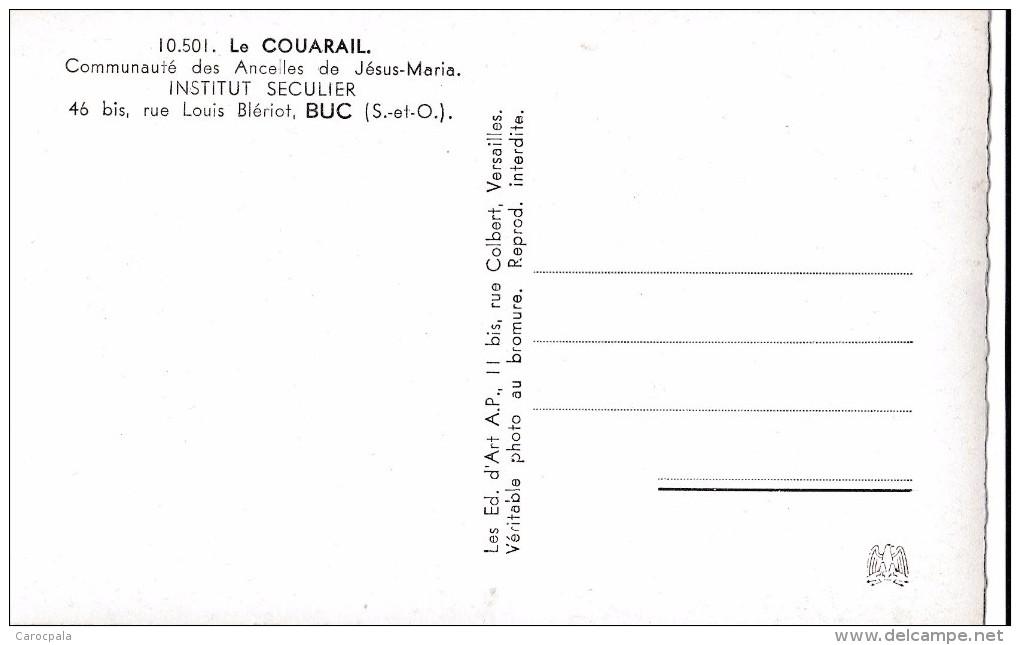Carte 1950 LE COUARAIL / COMMUNAUTE DES ANCELLES DE JESUS MARIA INSTITUT SECULIER / BUC RUE LOUIS BLERIOT - Buc