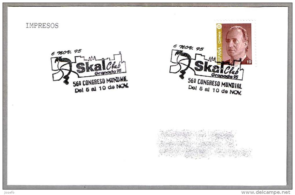56 Congreso Mundial SKAL CLUB. Granada, Andalucia, 1995 - Vacaciones & Turismo