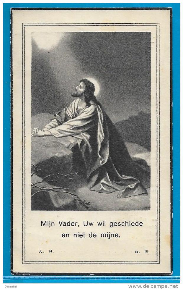 Bidprentje Van Johannes Emilius Vandervoort - Nieuwerkerken - 1887 - 1948 - Images Religieuses