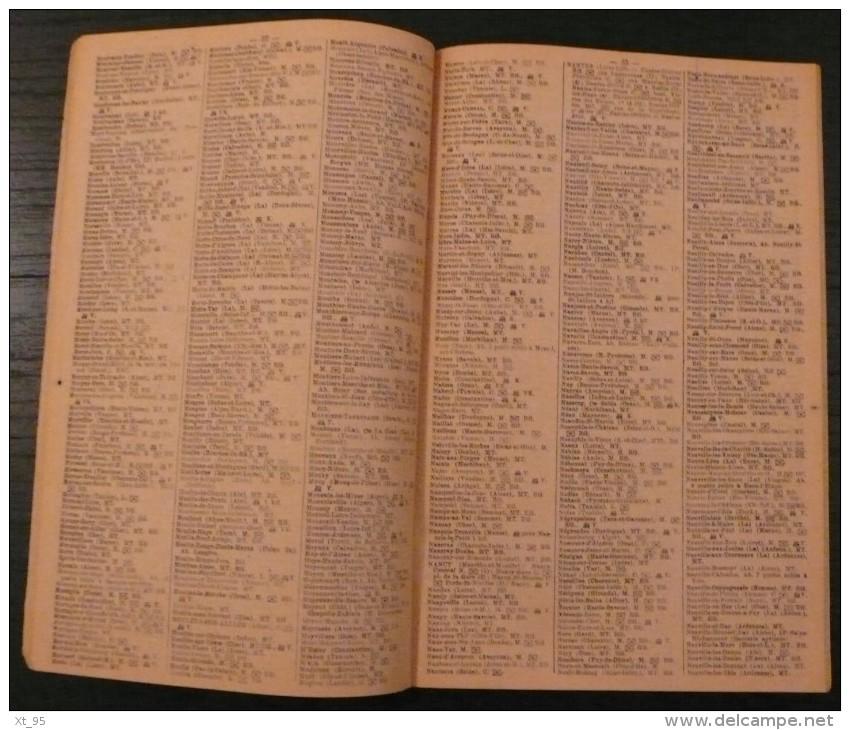 Indicateur Des Telegraphes - 1922 - 96 Pages - Frais De Port 2.50 Euros - Non Classificati