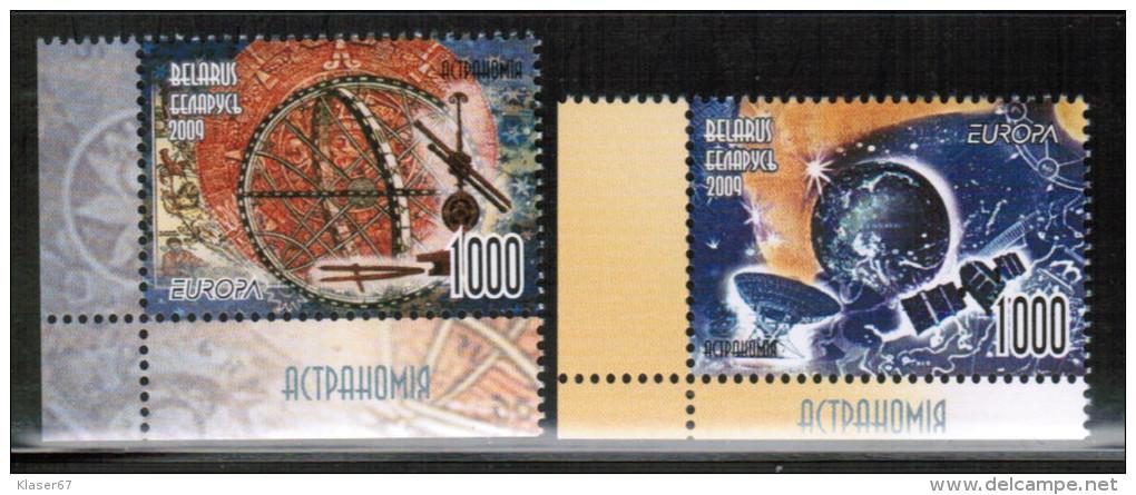 CEPT 2009 BY MI 763-64 Belarus - Europa-CEPT