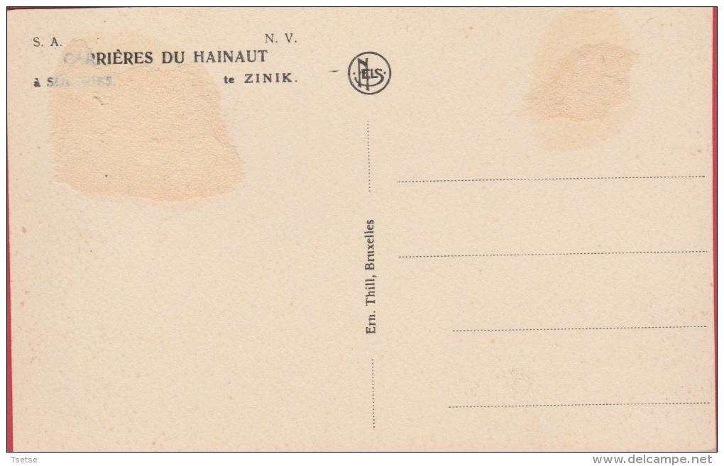 Soignies - Carrières Du Hainaut - Les Manutentions ... Loco Vapeur ( Voir Verso ) - Soignies