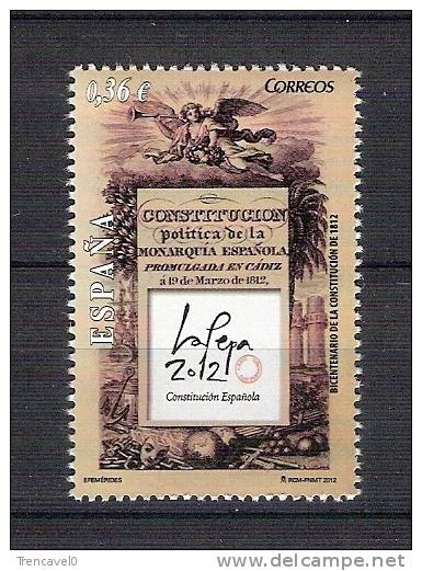 España 2012-Constitucion Española 1812 Bicentenario-nuevo**-Espa Gne Spain Spanien Spanje - 1931-Hoy: 2ª República - ... Juan Carlos I