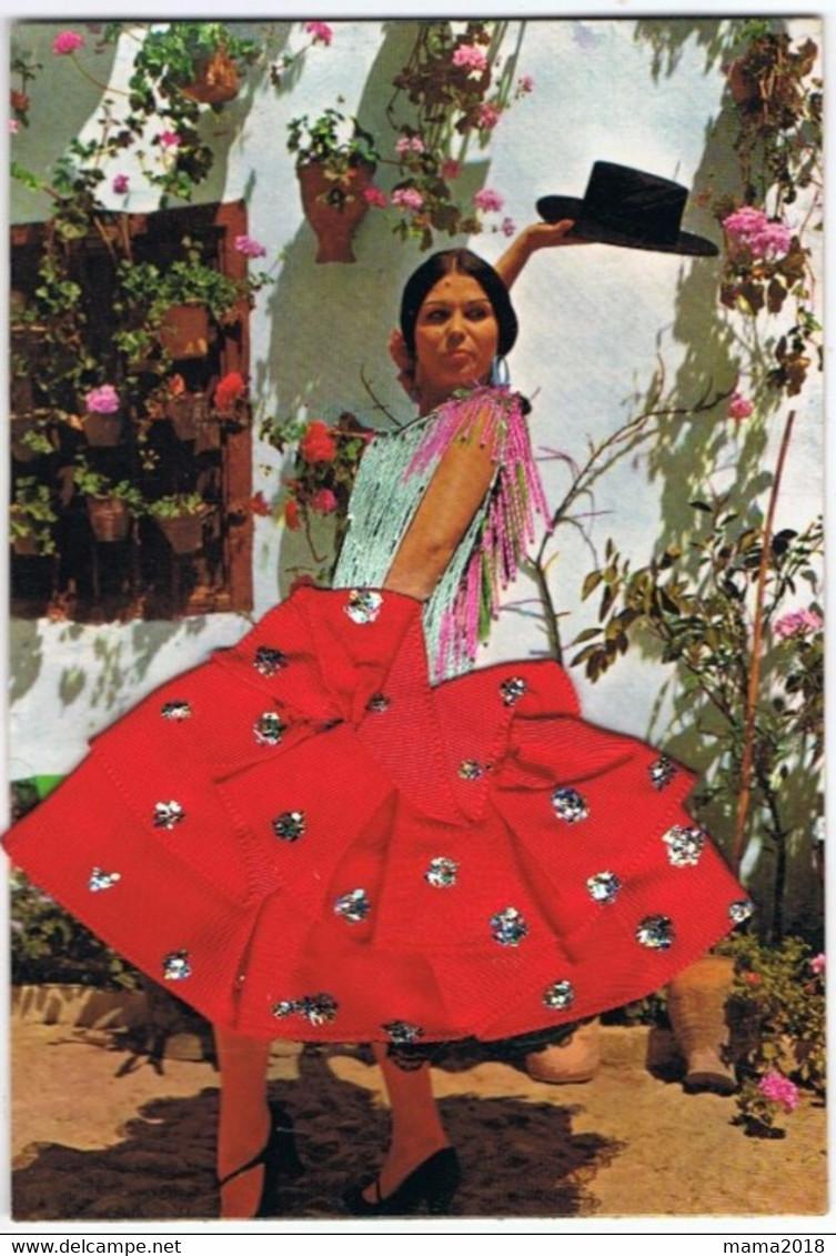 Carte Brodée   Flamenco - Ricamate