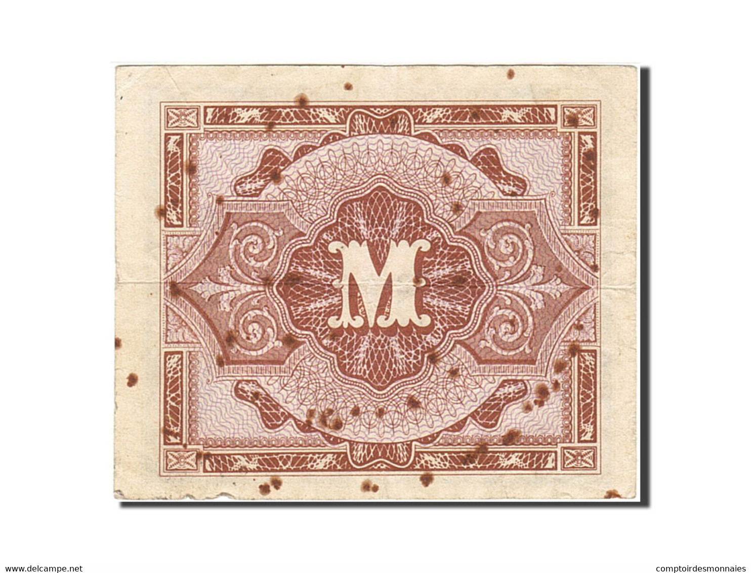 Allemagne, 1/2 Mark, 1944, KM:191a, Undated, B - 1/2 Mark