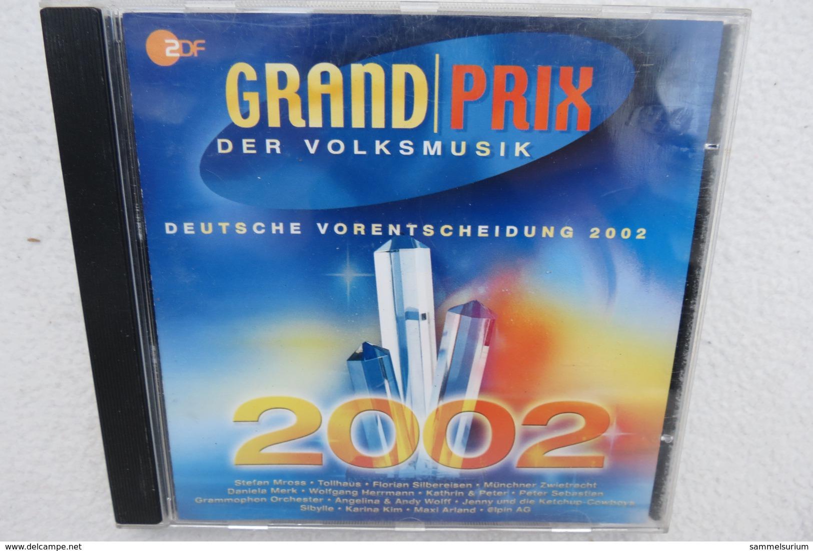 """CD """"Grand Prix Der Volksmusik"""" Deutsche Vorentscheidung 2002 - Sonstige - Deutsche Musik"""