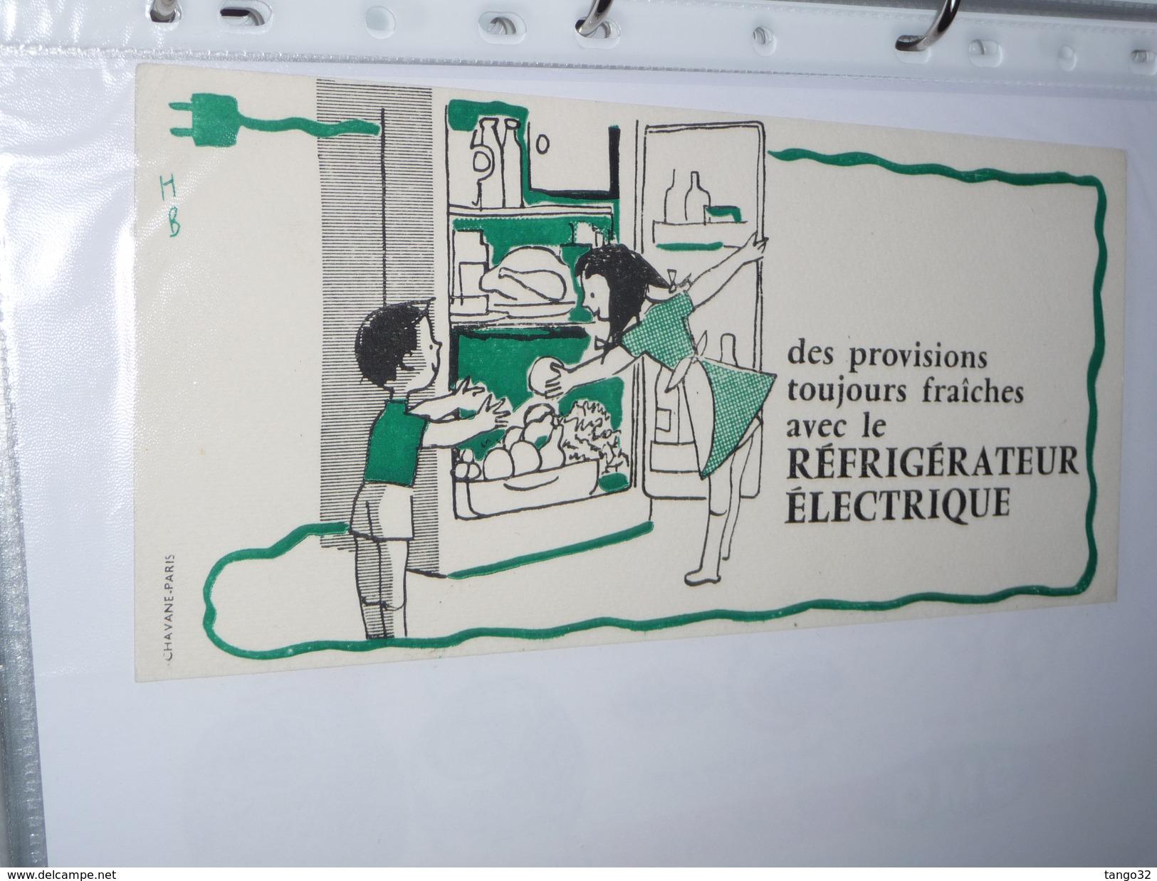 BUVARD-   Refrigerateur Electrique - Electricité & Gaz