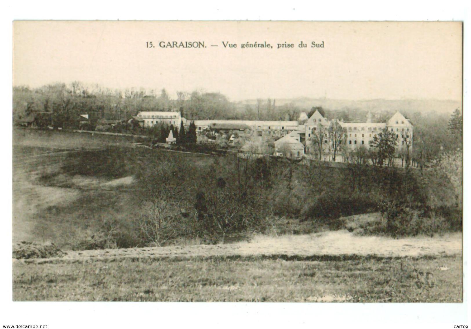 13623   Cpa   GARAISON    Vu Générale Prise Du Sud      ACHAT DIRECT !! - Andere Gemeenten