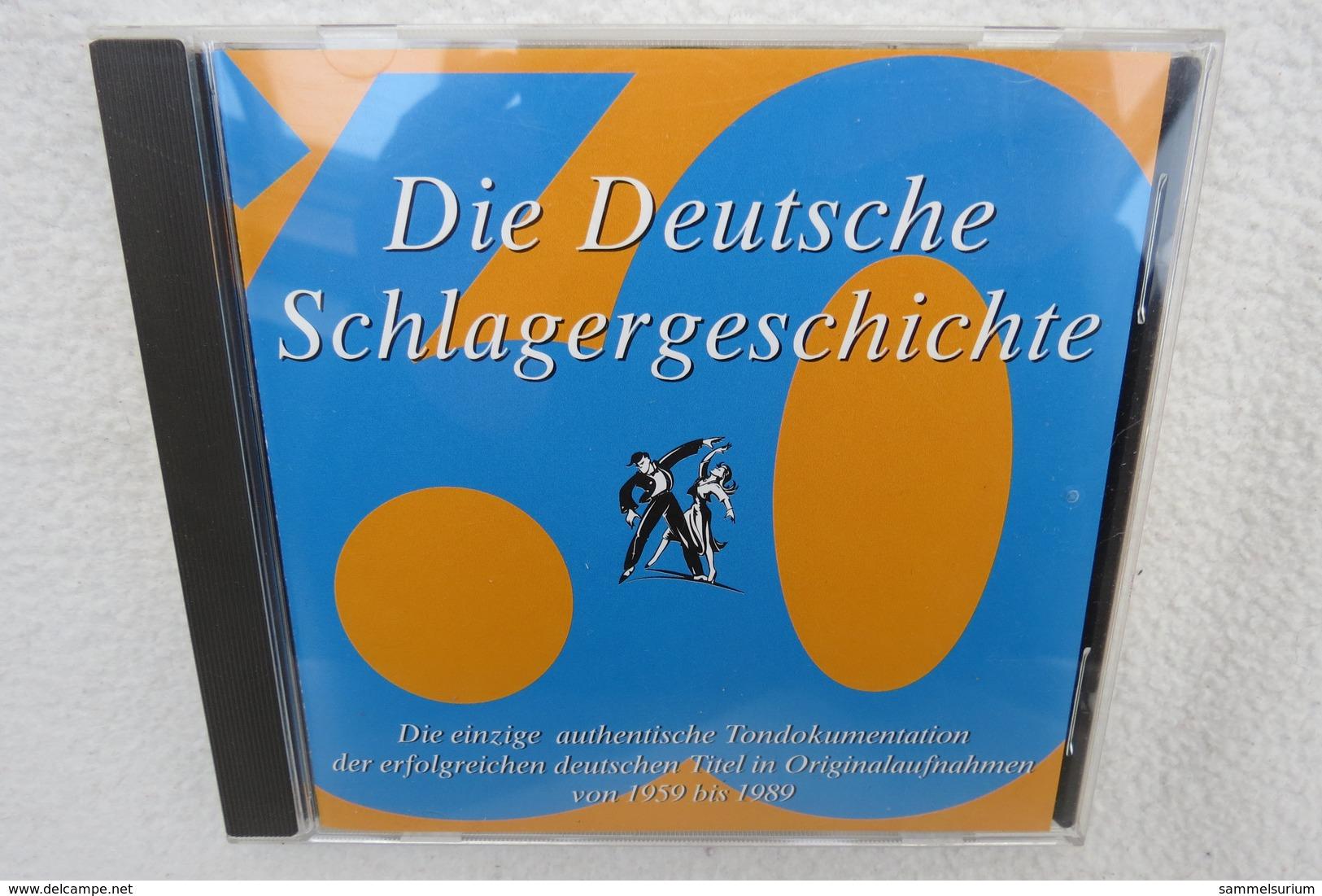 """CD """"Die Deutsche Schlagergeschichte 1960"""" Authentische Tondokumentation Erfolgreicher Dtsch. Titel Im Original 1959-1989 - Musik & Instrumente"""