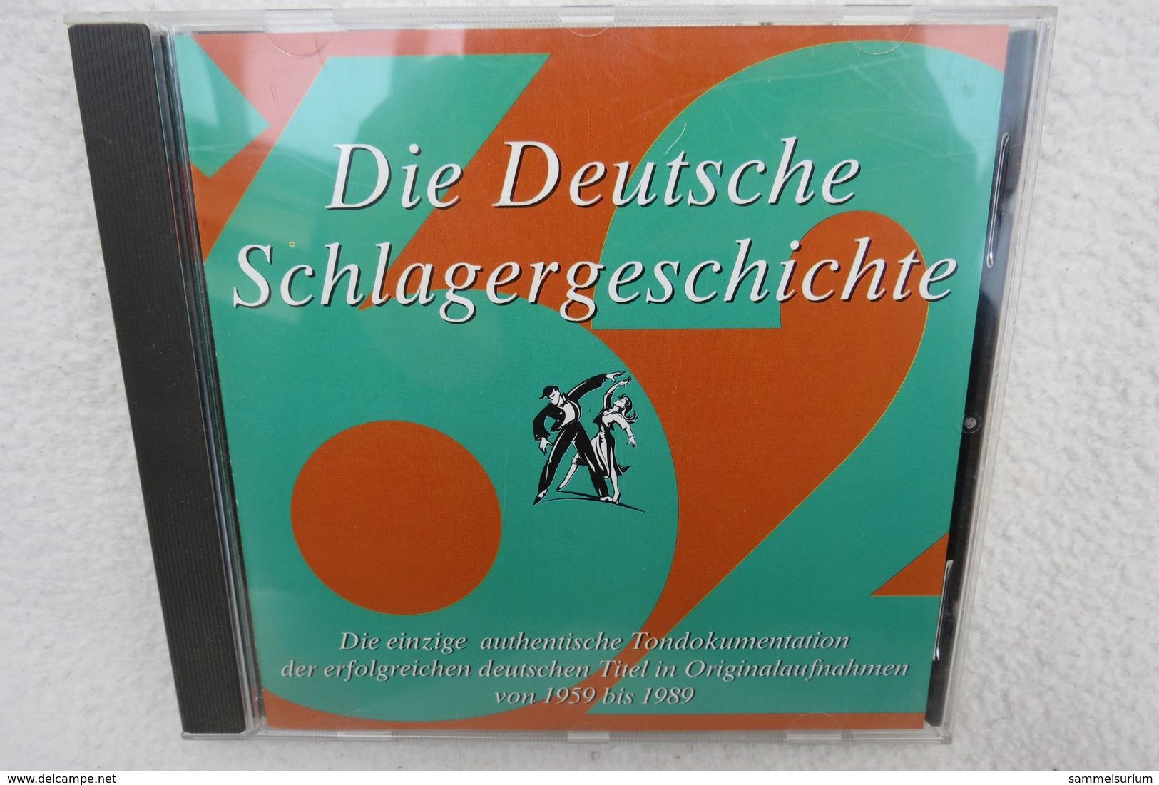 """CD """"Die Deutsche Schlagergeschichte 1962"""" Authentische Tondokumentation Erfolgreicher Dtsch. Titel Im Original 1959-1989 - Sonstige - Deutsche Musik"""