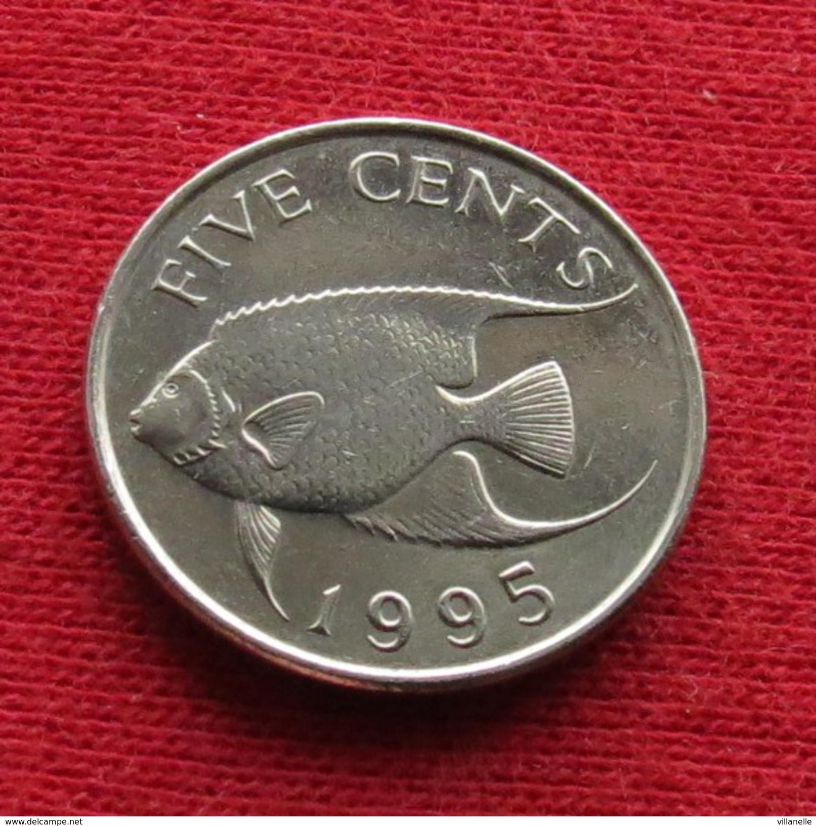 Bermuda Bermudes 5 Cents 1995 KM# 45 - Bermudes