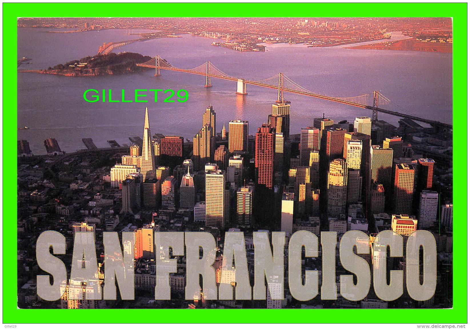 SAN FRANCISCO, CA - AERIAL OF DOWNTOWN SAN FRANCISCO - PHOTO ANDREW McKINNEY - - San Francisco
