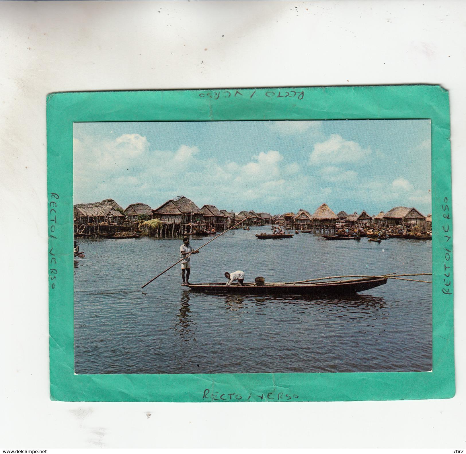 BENIN GANVIE VILLAGE LACUSTRE - Benin