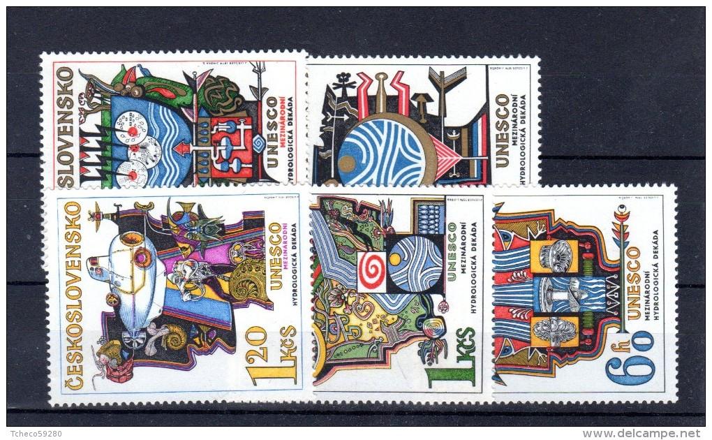 1974 UNESCO Y  2040 - 2044 ** - Ungebraucht
