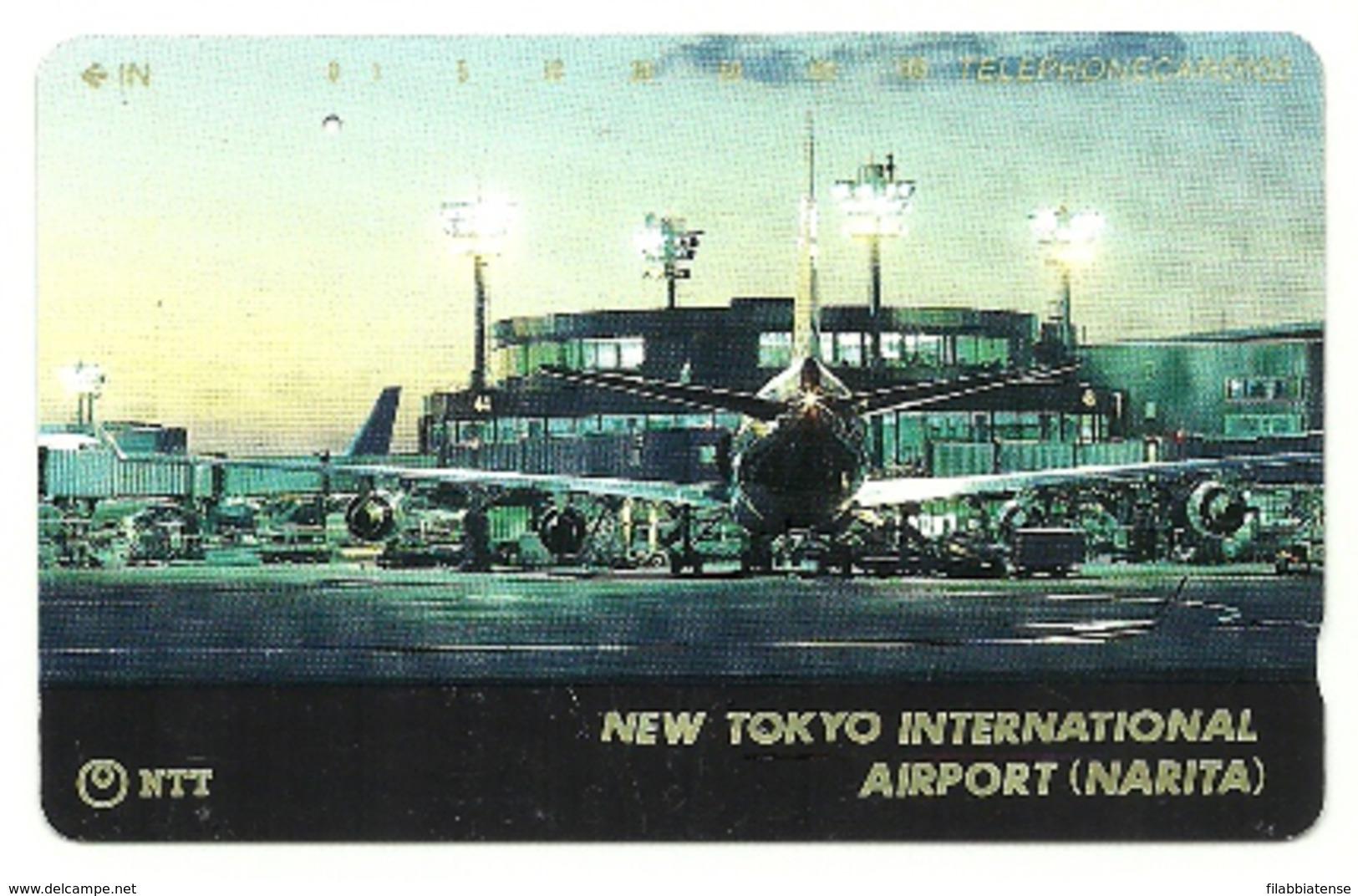 Giappone - Tessera Telefonica Da 105 Units T175 - NTT, - Avions