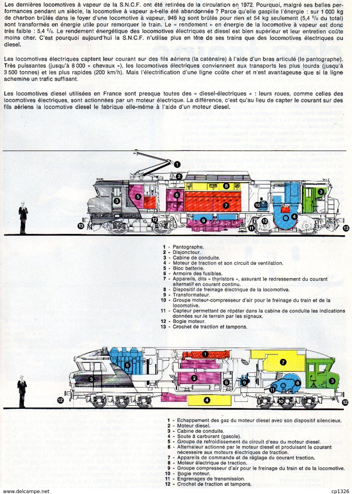 611Or  Magazine Chemins De Fer Français SNCF Histoire Trains Gare Marchandises...en 1978 - Chemin De Fer