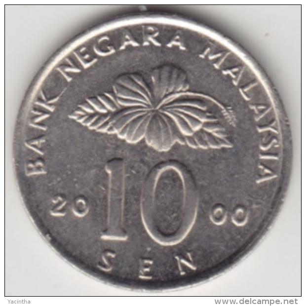 @Y@   Maleisië     10  Sen   2000     (4139) - Malaysie