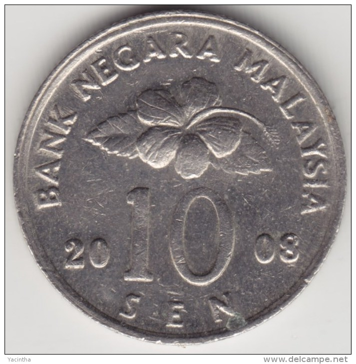 @Y@   Maleisië     10  Sen   2008     (4161) - Malaysie