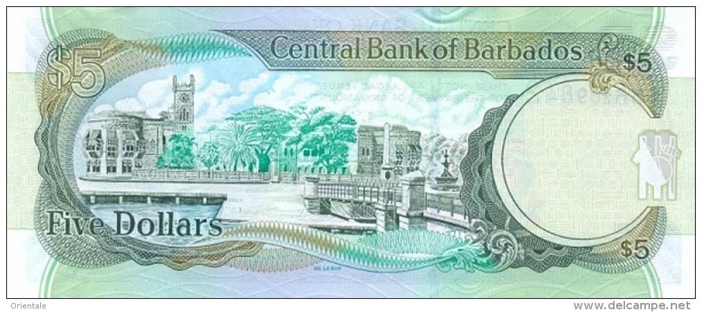 BARBADOS P. 67c 5 D 2012 UNC - Barbados