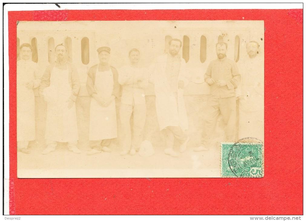 COCHINCHINE CAP SAINT JACQUES  Carte Photo Animée  Personnes Au Travail Deux Scanns - Viêt-Nam